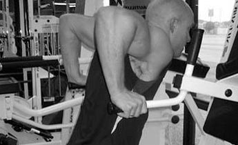 wide grip chest dips