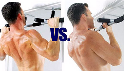 Overhand Pull Ups Vs. Underhand Chin Ups For The Lats
