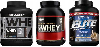 3 best whey protein products