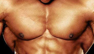 big chest muscles