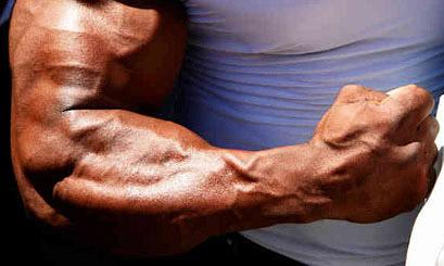 big forearms