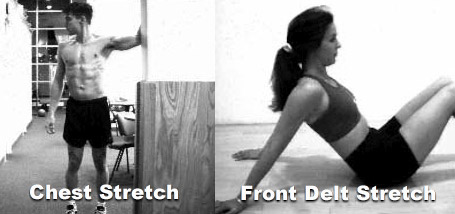 chest shoulder stretch