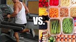 dieting vs cardio