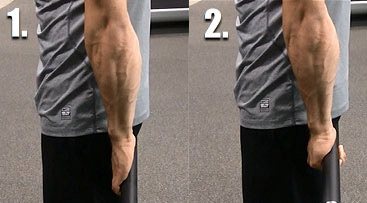 freeweight hand gripper exercise