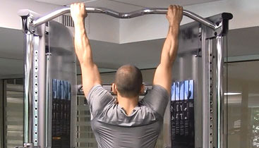 forearm exercise - pull up bar holds