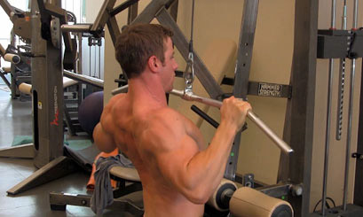 lat pulldown form