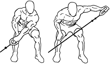 one arm cable rear lateral raise