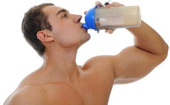 whey protein shake