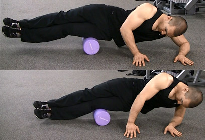 foam roll IT band