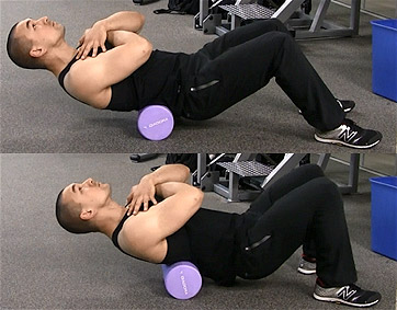 lower back foam roll