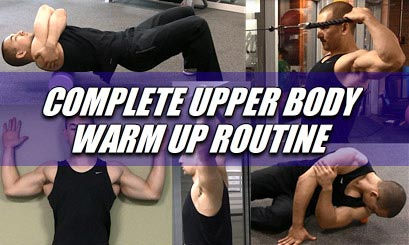 upper body warm up and mobility routine