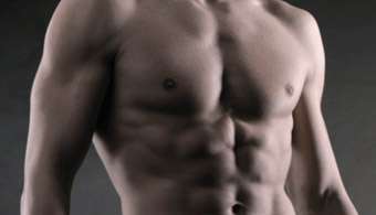 sculpted chest