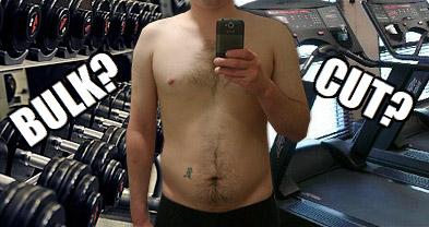 skinny fat bulk or cut