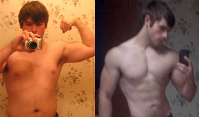 skinny fat transformation