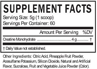 creagains ingredients