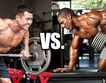 barbell row vs. dumbbell row