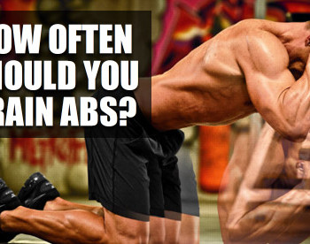 how often to train abs