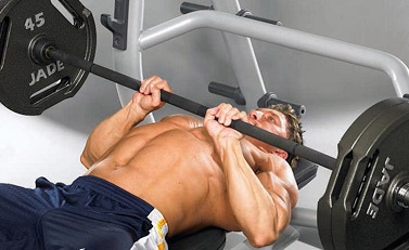close grip bench press width