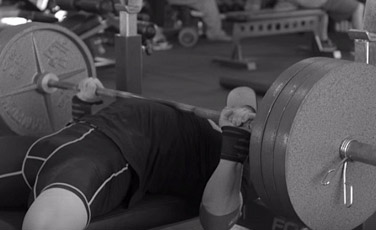 barbell bench press form