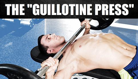 guillotine press