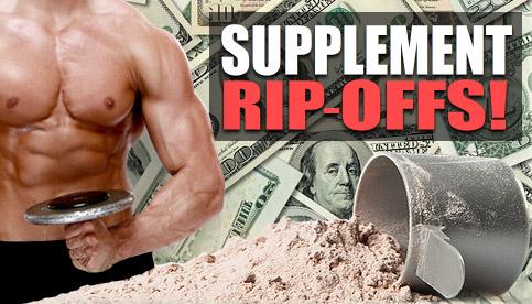 supplement ripoffs