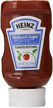 reduced sugar ketchup