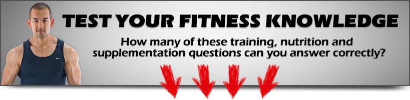 fitness quiz