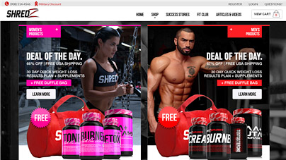 shredz reviews