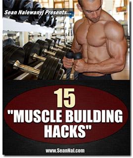 15 muscle building hacks