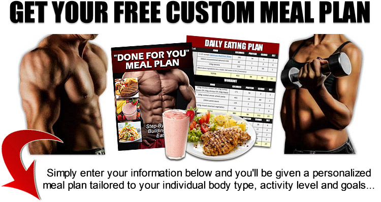 your custom meal plan