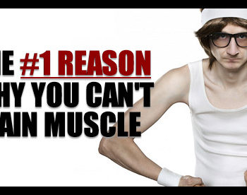 cant gain muscle