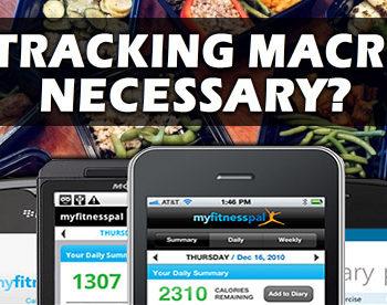 is tracking macros necessary