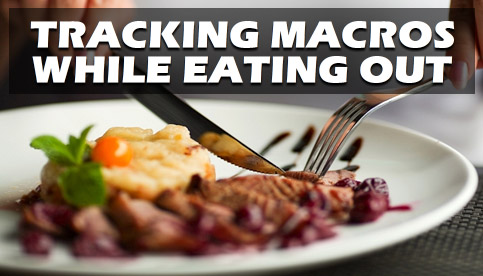 track macros while eating out
