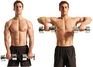 upright rows form