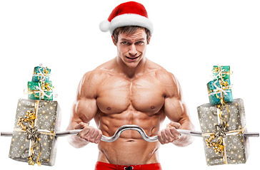 bodybuilding at christmas