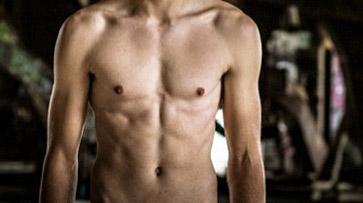 skinny abs