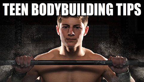 teen bodybuilding tips