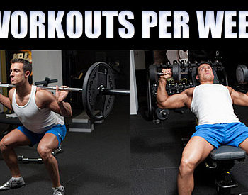 2 workouts per week