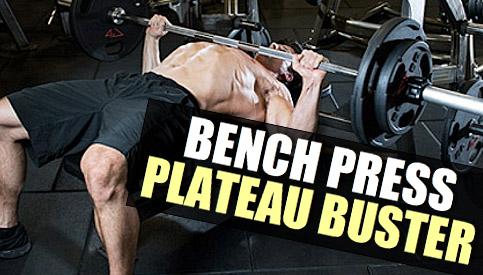 bench press plateau