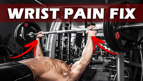 bench press wrist pain