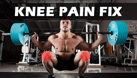 squats knee pain