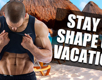 working out on vacation