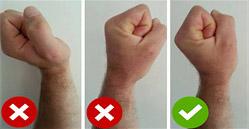 bench press wrists
