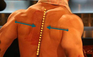 bench press retract scapula
