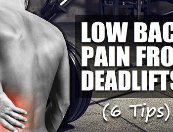 deadlift lower back pain