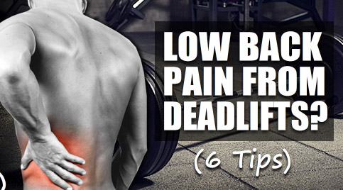 deadlift lower back pain
