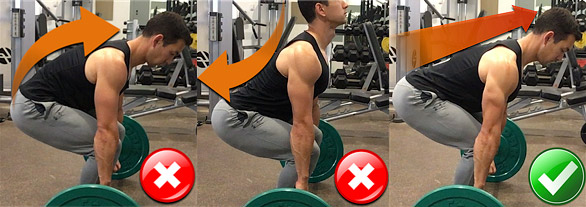 deadlift lower back
