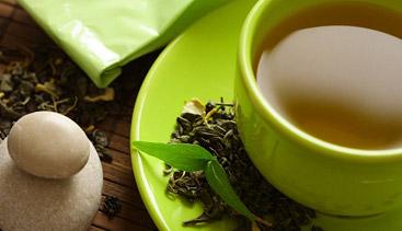 how much green tea