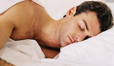 water retention sleep