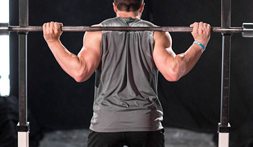 barbell squat bar position